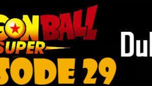 Dragon Ball Super Episode 29 English Dubbed DBSuper
