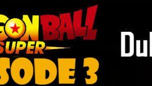 Dragon Ball Super Episode 3 English Dubbed DBSuper