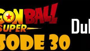 Dragon Ball Super Episode 30 English Dubbed DBSuper