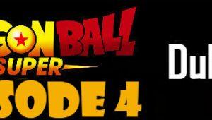 Dragon Ball Super Episode 4 English Dubbed DBSuper