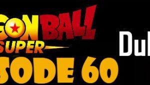 Dragon Ball Super Episode 60 English Dubbed DBSuper